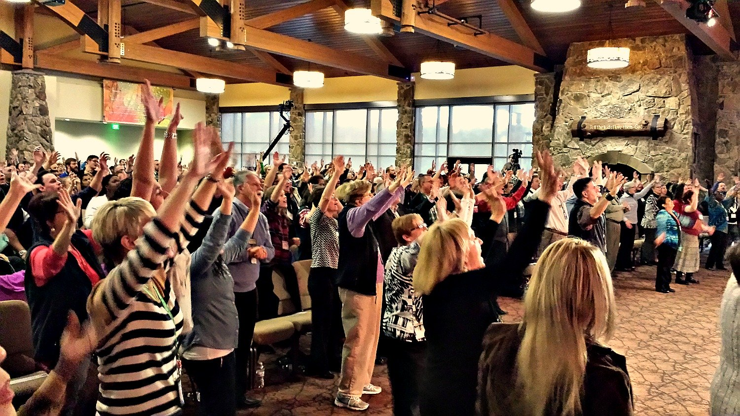 Believers in Jesus Praising the Lord for His healing & goodness